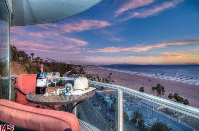 Larry Hagman's Penthouse in Santa Monica