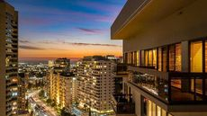 Tennis Fans Will Love It! L.A. Penthouse Sports Its Own Rooftop Court