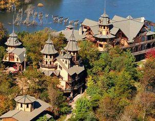 Castle Rogue's Manor in Eureka Springs, Arkansas for $1.8 Million