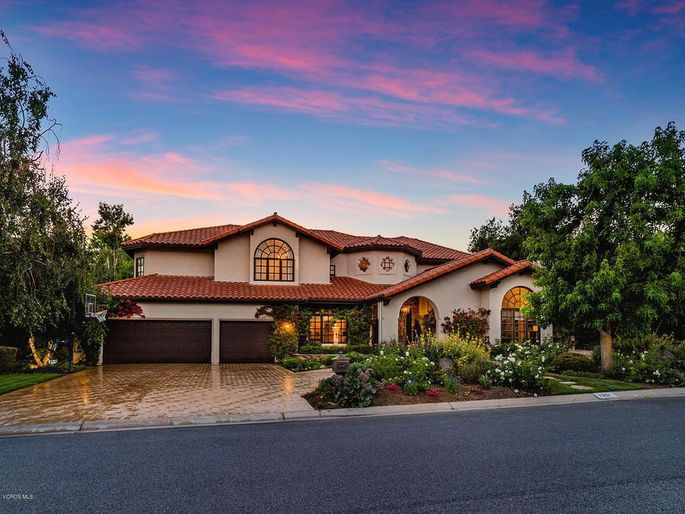 The Westlake Village, CA, home