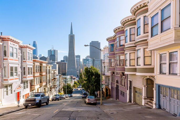 Rental prices are down the most nationally in ultraexpensive San Francisco County.