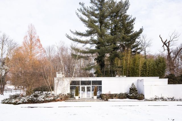 Philip Johnson's Ball House in New Canaan, Conn., which architect Reja Bakh purchased in 2015.