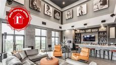 Designed for Dudes, a $6M Penthouse in Indiana Is the Week's Most Popular Home