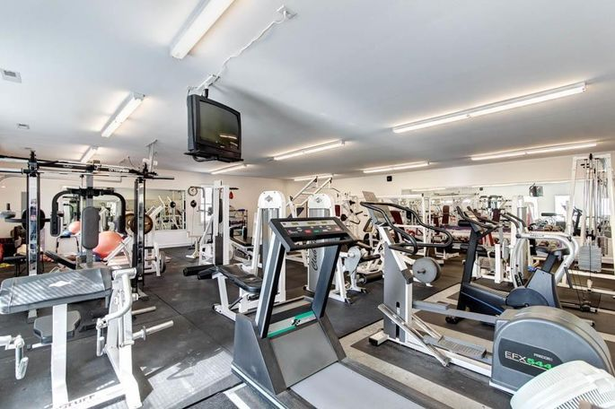 The gym—equipment is negotiable.