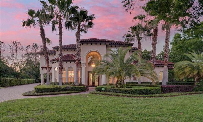 Mediterranean architecture in Orlando, FL