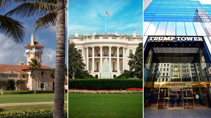 Donald Trump S Home Vs The White House Which Place Is