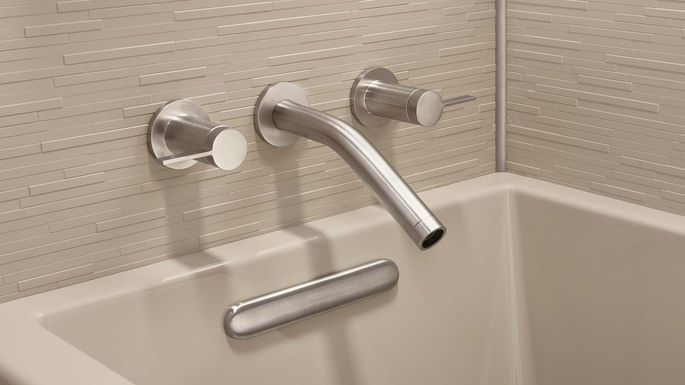 Some new fixtures can quickly make your bathroom feel newer.
