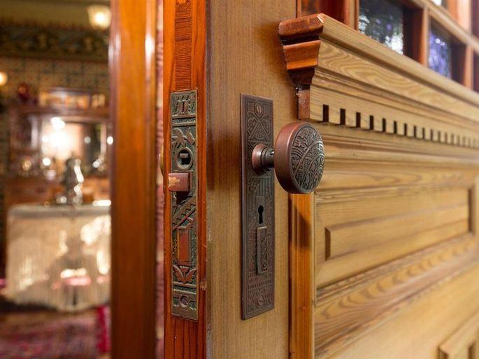 Original door and hardware