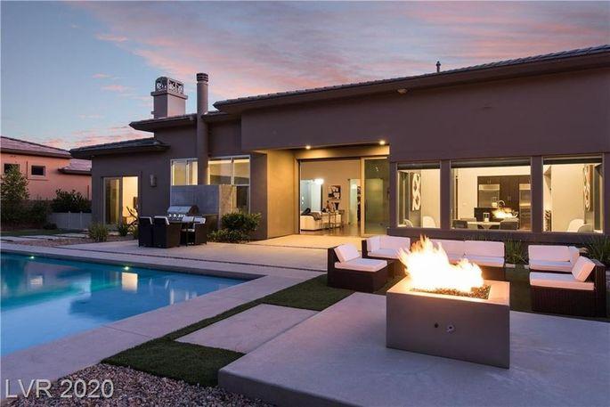 Pia Zadora's Las Vegas home