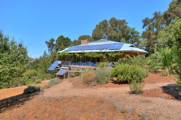 Fascinating Off-the-Grid Home Looms Over Silicon Valley