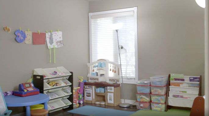 This was once a great playroom, which was originally a bad living room.