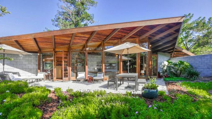 Untouched Midcentury Modern Gem In Palo Alto Sned Up 2
