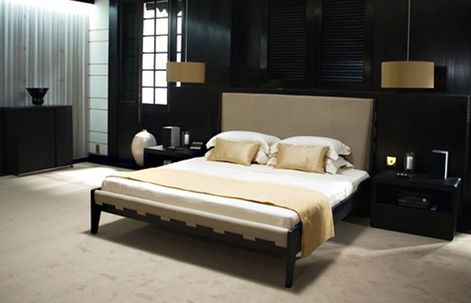 "James Bond's bedroom in ""Quantum of Solace"""