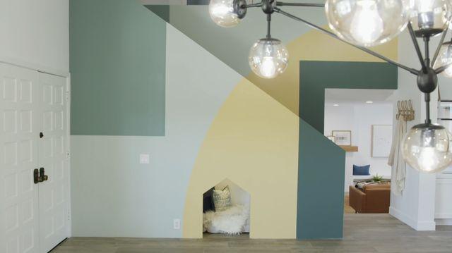 color block wall