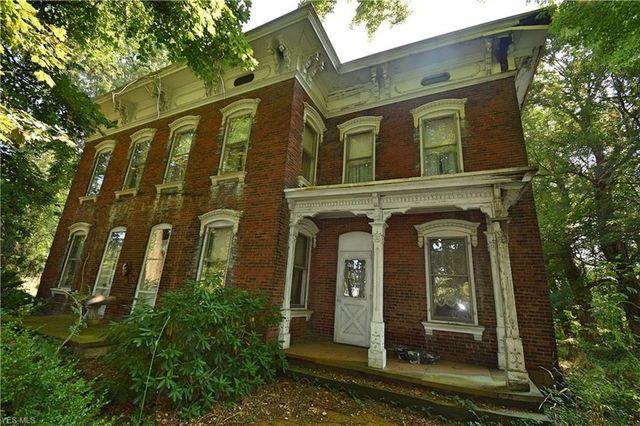 Green, OH brick colonial exterior