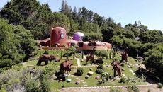 Attorney for 'Flintstone House' Owner Plans to Sue City Over Backyard Brouhaha