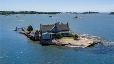 Storybook House on Private Island in Connecticut Is the Ultimate Getaway