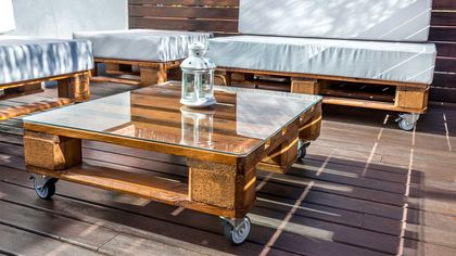 Upcycling Ideas for Your Outdoor Space: Turn a Tire Into a Coffee Table, and More