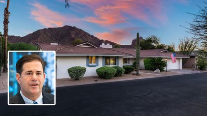 Ducey Downsize: AZ Governor Sells Mansion for $8.1M After Buying Fixer-Upper