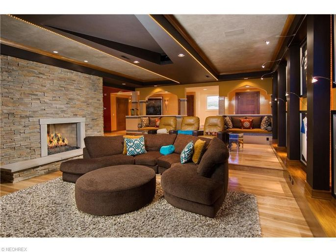 Living roomwith fireplace
