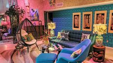Hawaiian Harmony! Polynesian Decor in Midcentury Modern Condo Is Tiki-Terrific