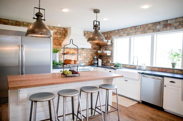 "You'll be hard-pressed to find a ""Fixer Upper"" kitchen without a brand-new island."