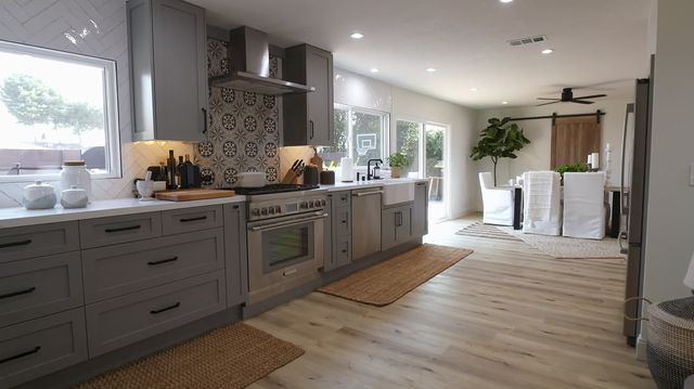 gray counters