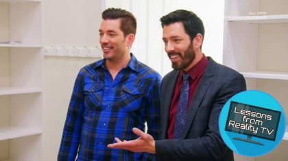 The Property Brothers Take a Decor Risk You Have to See to Believe