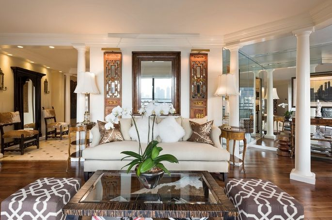 A Smaller New York Apartment With Unique Decor That Ryan Serhant Is Attempting To
