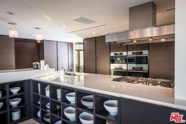Trent Reznor's kitchen.