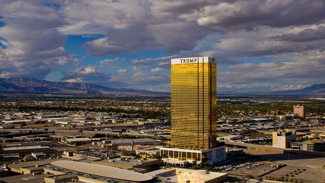 Trump International Tower in Las Vegas, a luxury hotel, condominium, and timeshare building.