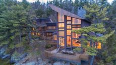 $10M Lakefront Escape Is New Hampshire's Most Expensive Home