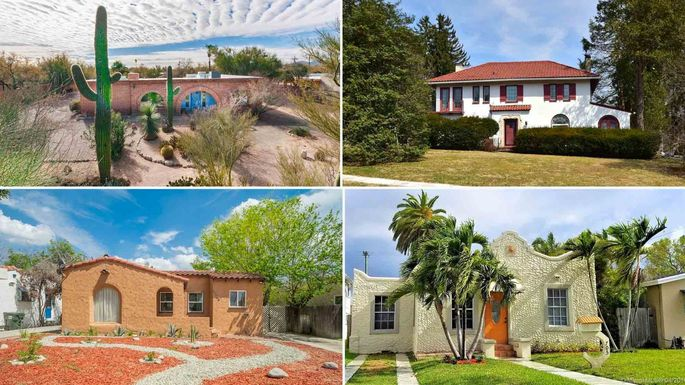 Say \u0027Hola\u0027 to 9 Spanish,Style Homes on the Market\u2014All Under