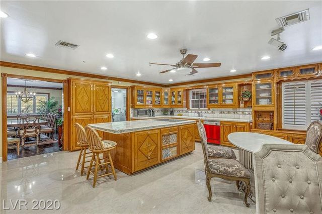 Kitchen Jerry Lewis house las vegas