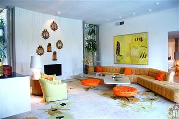 Travel Back to the '60s in Interior Designer Arthur Elrod's Palm Springs House