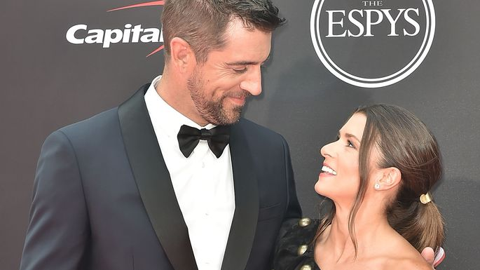 Aaron-Rodgers-and-Danica-Patrick
