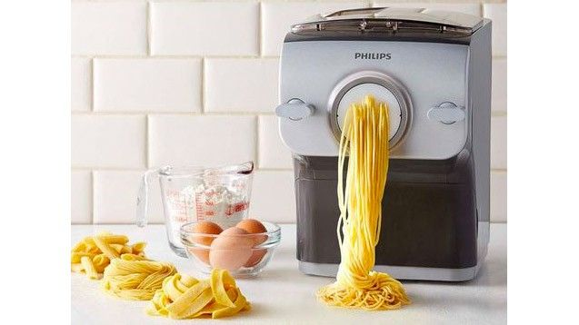 Chances are you'll quickly tire of making fresh pasta after the novelty wears off. Or even before