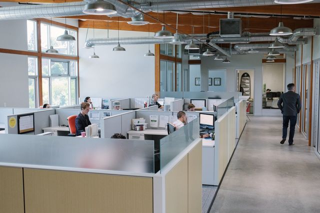 A view of the Drop Mortgage office and staff in Encinitas.