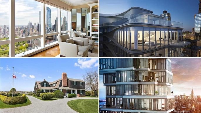 New york dominates our most expensive new listings for Most expensive homes in new york