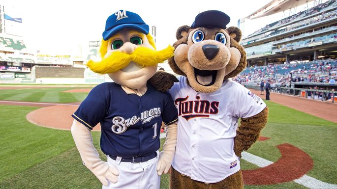 If Bernie Brewer can make friends in Milwaukee, you shouldn't have any problems.