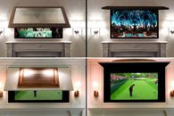 4 Cool Ways to Make Your Flat-Screen TV Practically Vanish