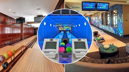Can You Spare a Few Minutes? Check Out These 7 In-Home Bowling Alleys