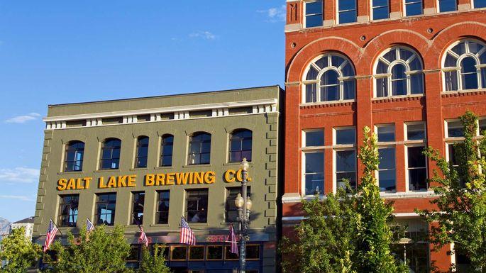 Squatters Brew Pub in Salt Lake City