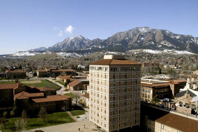 University of Colorado in Boulder, CO