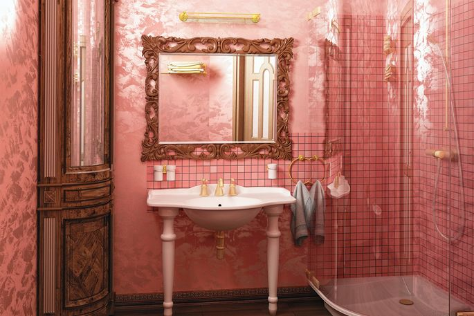 Pink Bathrooms Fan Site Aims To Preserve '48s Decor Realtor Inspiration Mobile Bathroom Rental Decor