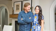 Goodbye, Farmhouse Chic?! Chip and Joanna Gaines Try a New Style You've Got to See