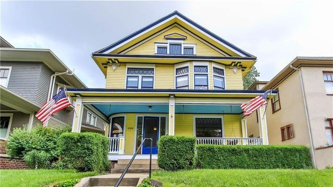 Four-bedroom Queen Anne in Indianapolis