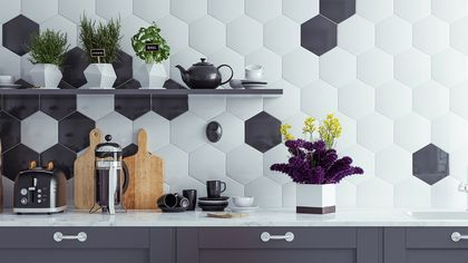 Shape Up! 8 Ways to Rock the Geometric Decor Trend Without Pattern Overload