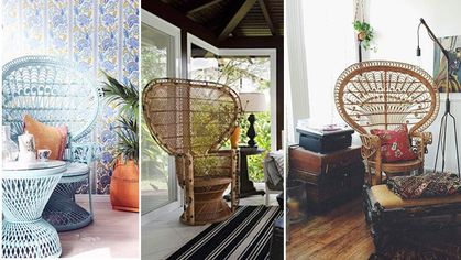 Strut Your Style: 6 Pretty Ways to Decorate With Peacock Chairs