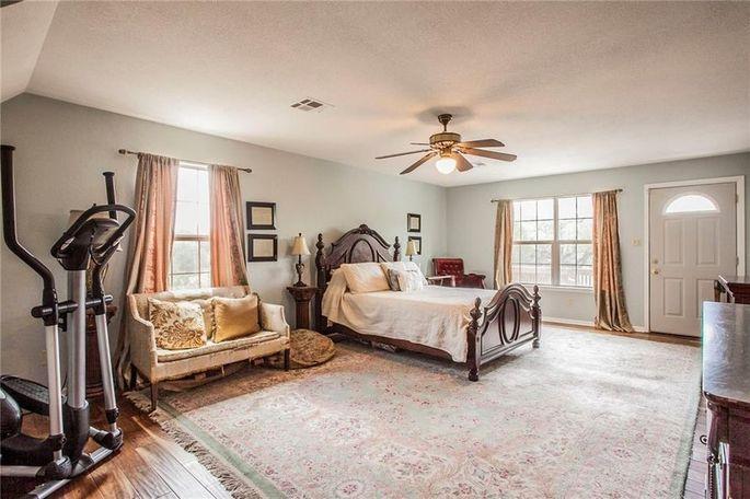 Current master bedroom